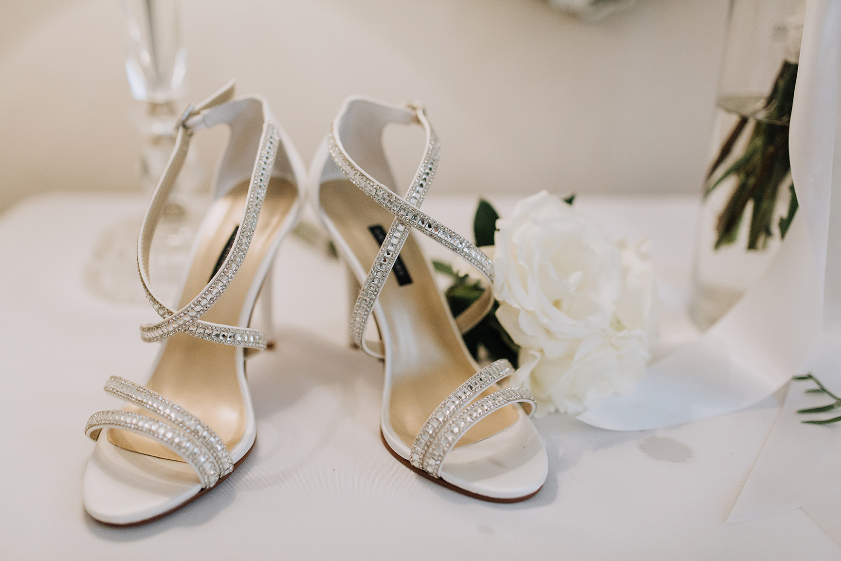 real wedding, bride, shoes, heels, sandals, getting ready
