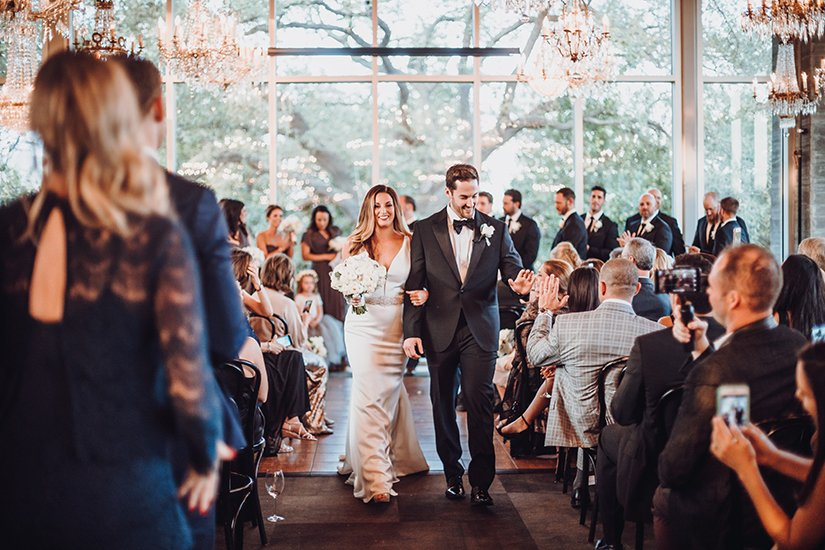 Jackie + Aaron  -  Real Houston Wedding