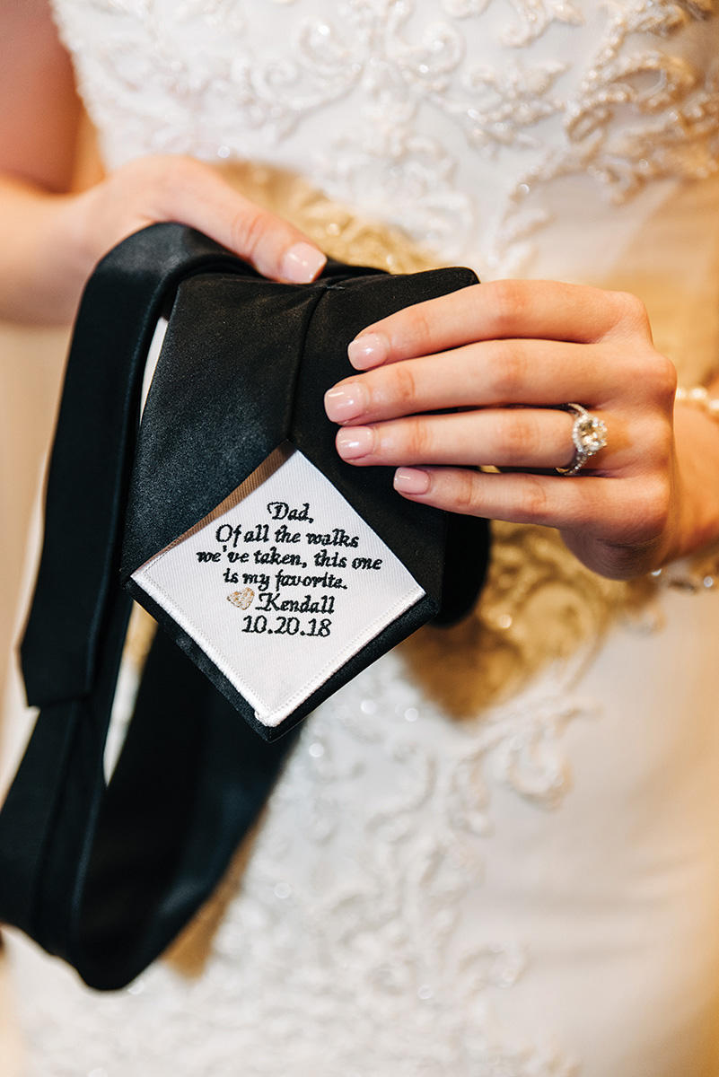 small, thoughtful wedding details