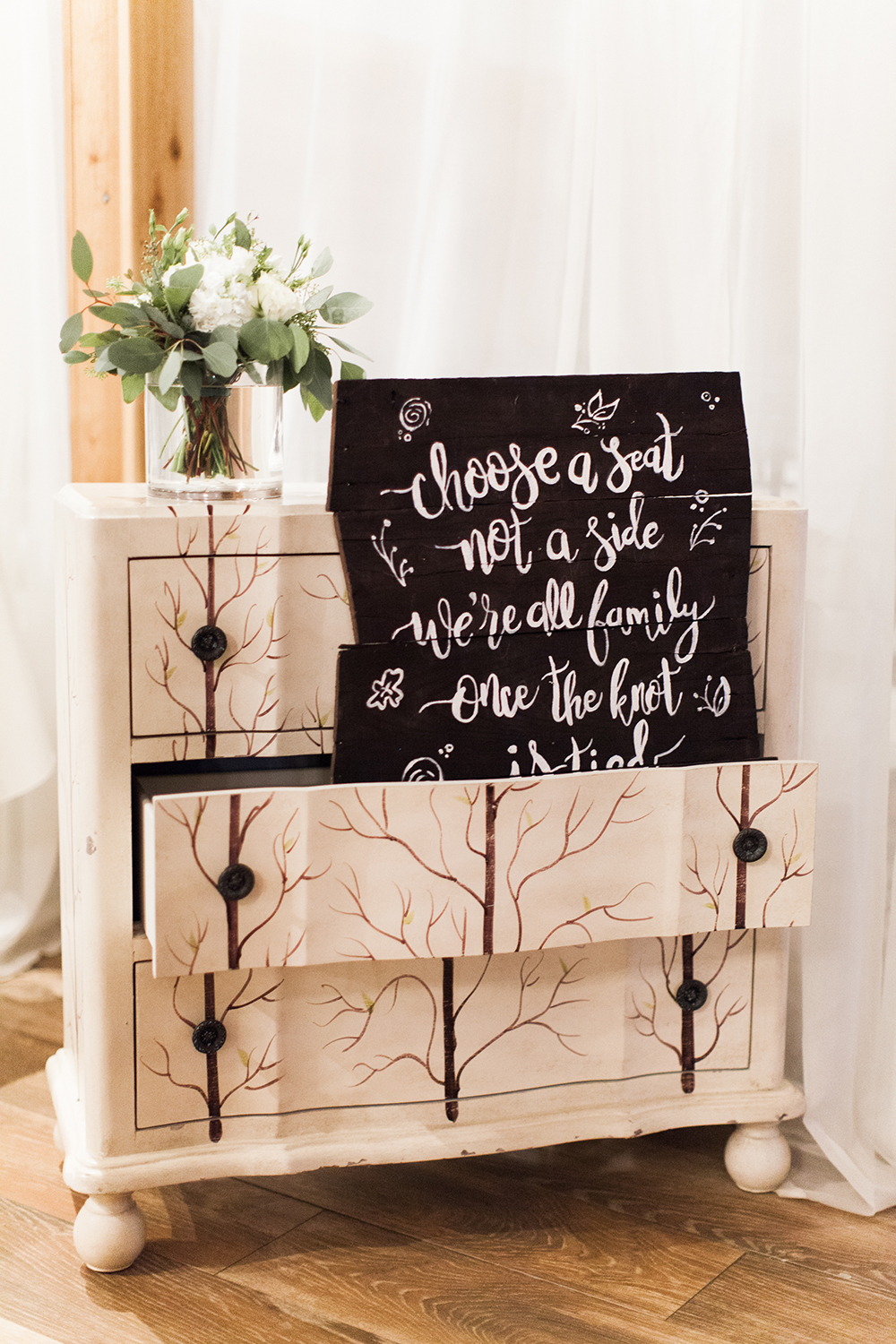 wedding decor and rentals - rustic chic decor