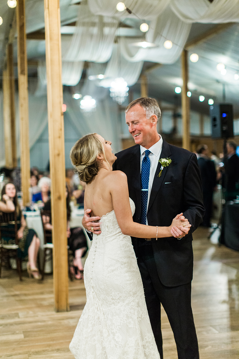 father daughter dance - country wedding