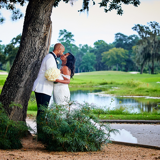 raveneaux country club, venue in houston, gorgeous wedding gown