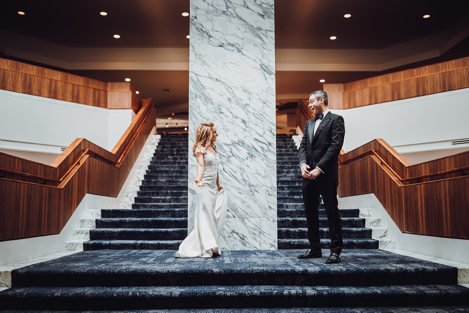 Houston Wedding, First Look, Bride, Groom