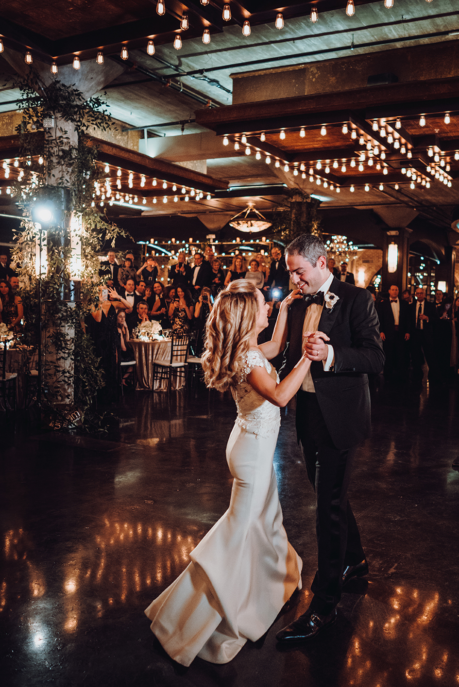 Houston Wedding, First Dance, Bride, Groom, The Astorian