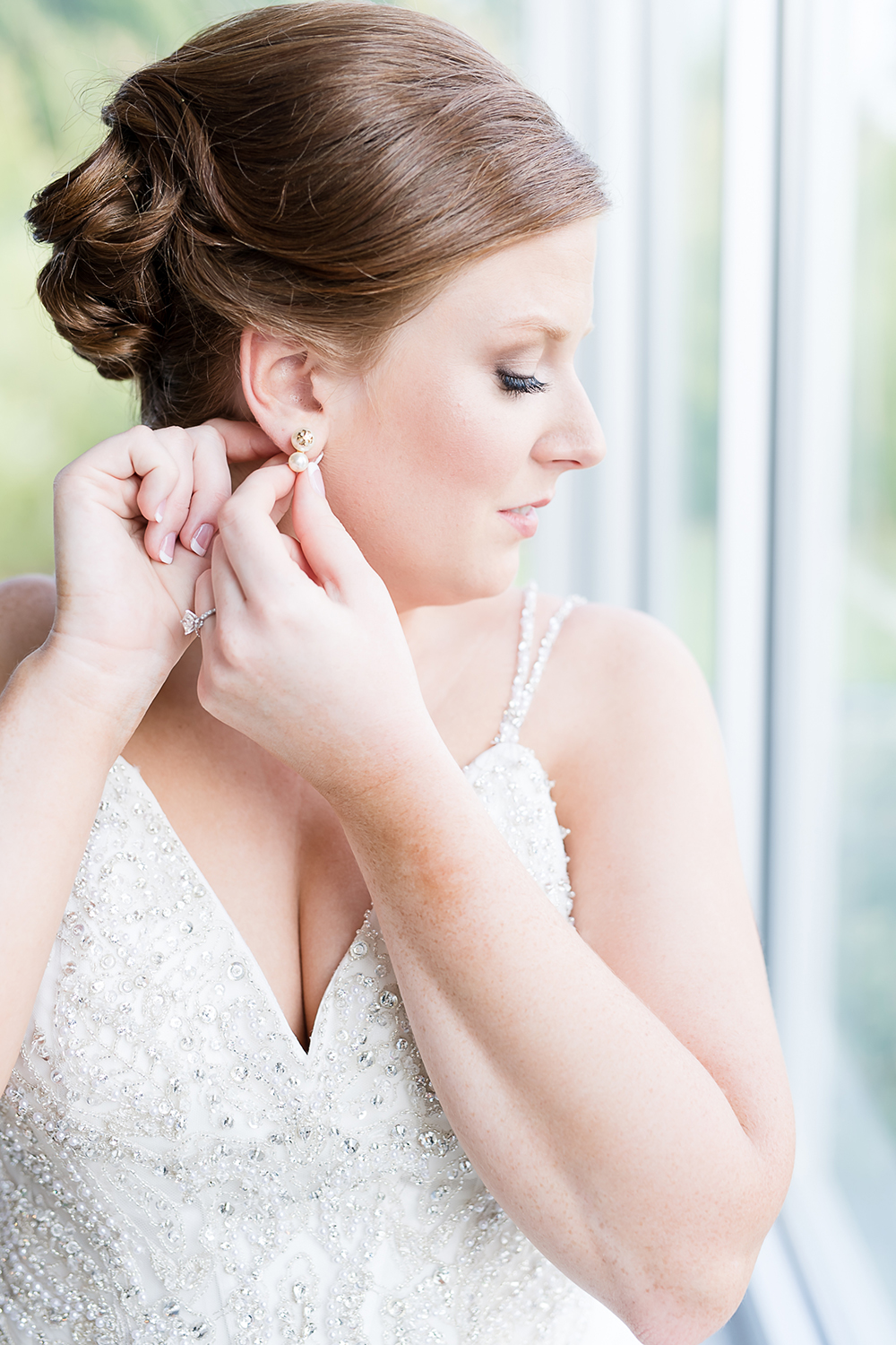 pre wedding photography - hair and makeup