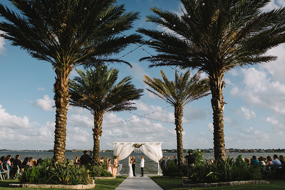 outdoor ceremony - waterfront - waters edge