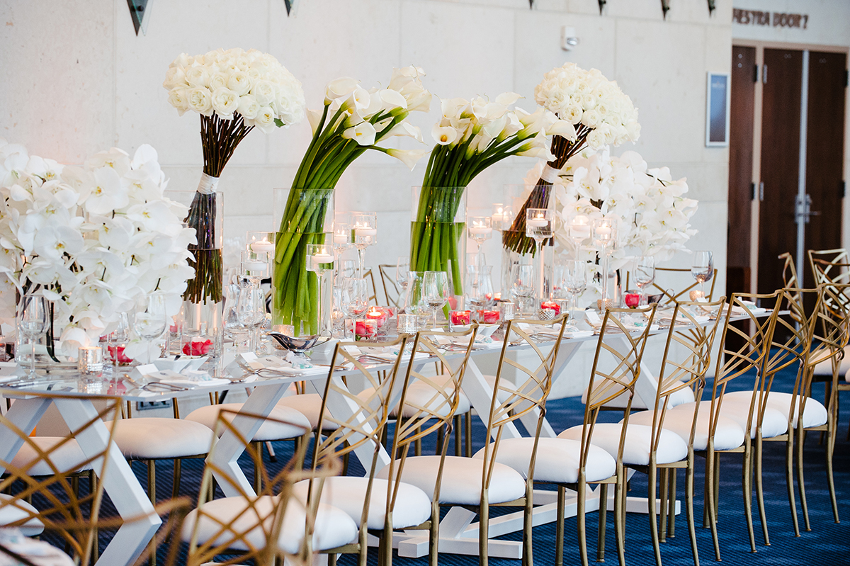 houston wedding, reception, wedding decor, tables
