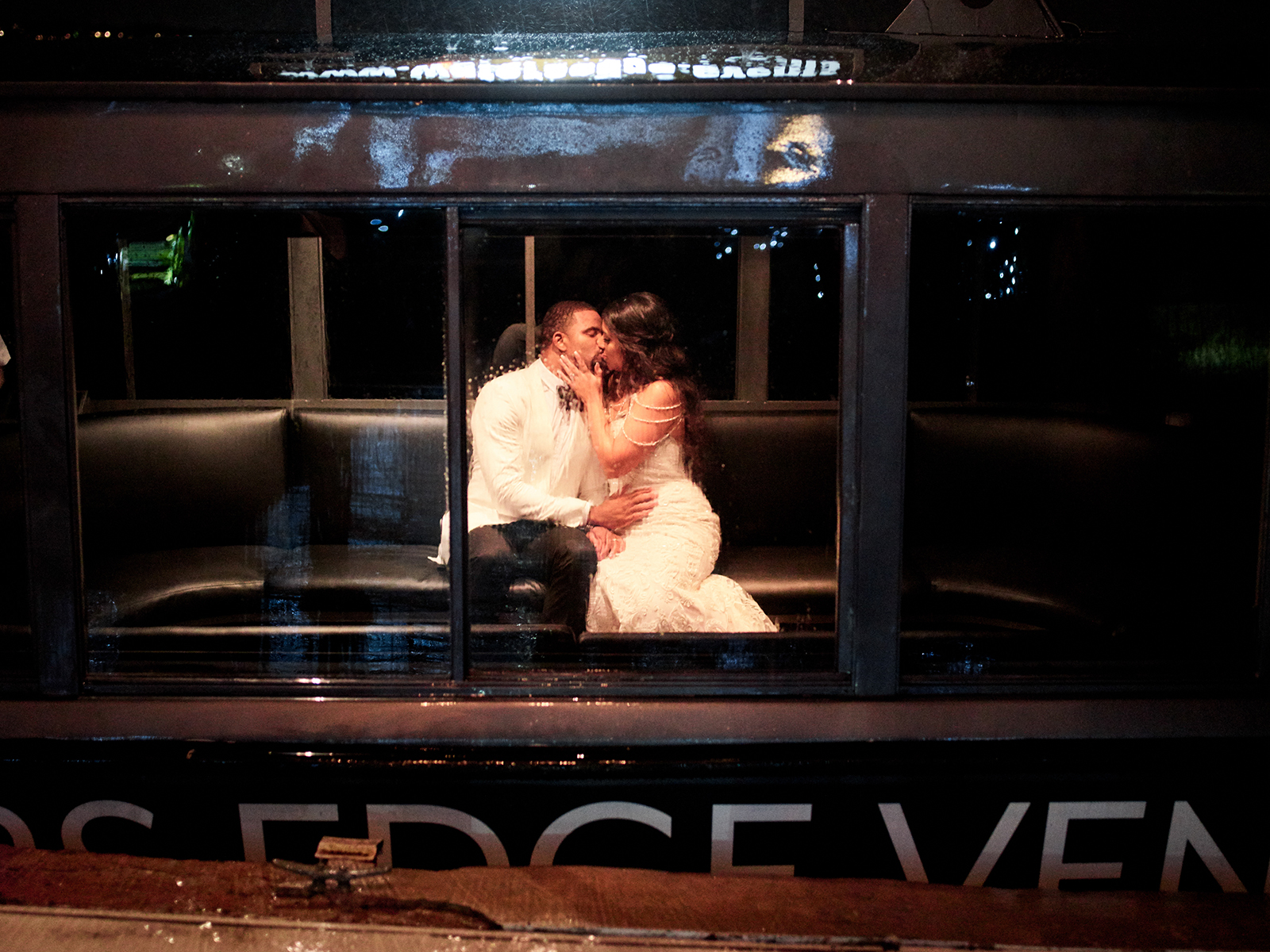 boat - transportation - wedding - just married