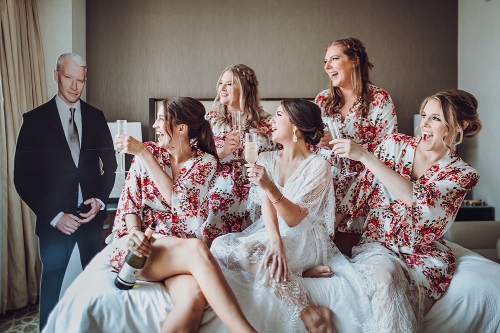 bride tribe - anderson cooper - cut out - bridal party