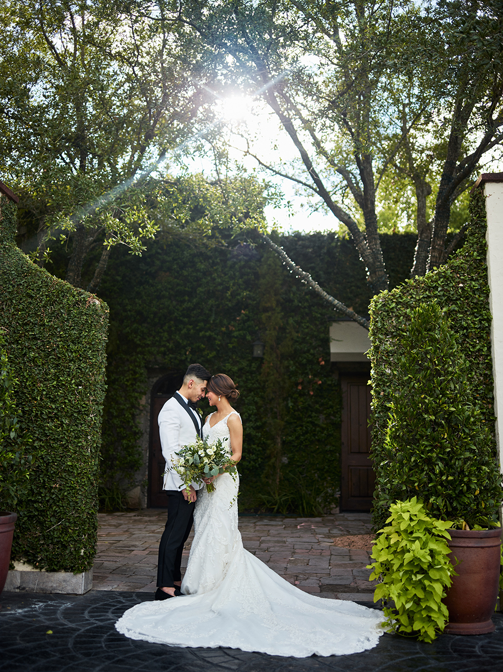 gorgeous wedding photography for fall wedding in garden