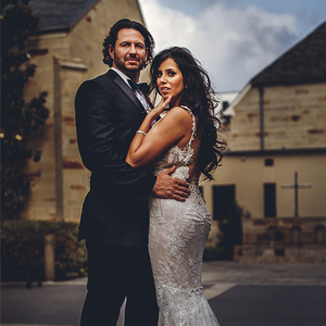 Sandra + Brian - Real Wedding