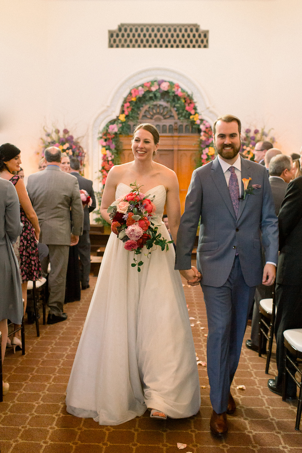 newlywed, ceremony photography, classic spring summer wedding