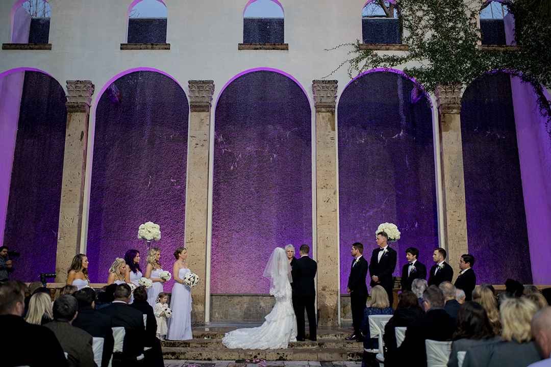 houston, Bell Tower on 34th, dynamo dancer, bridal party, city wedding, purple, gold, sports, weddin