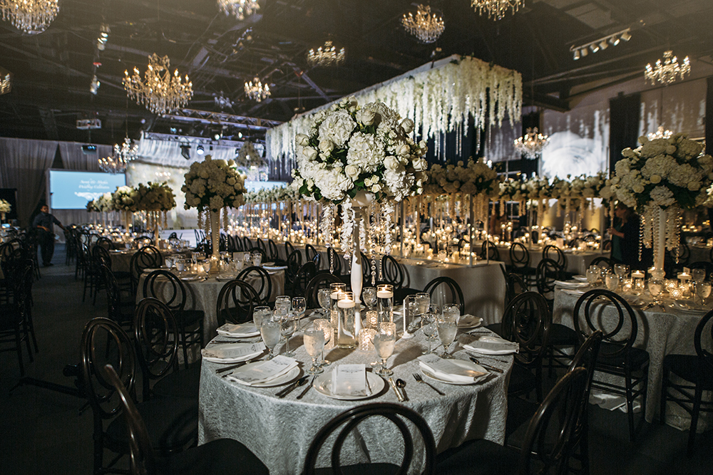 houston wedding venue, real wedding, ballroom at bayou place, kat creech, dream bouquet, flowers