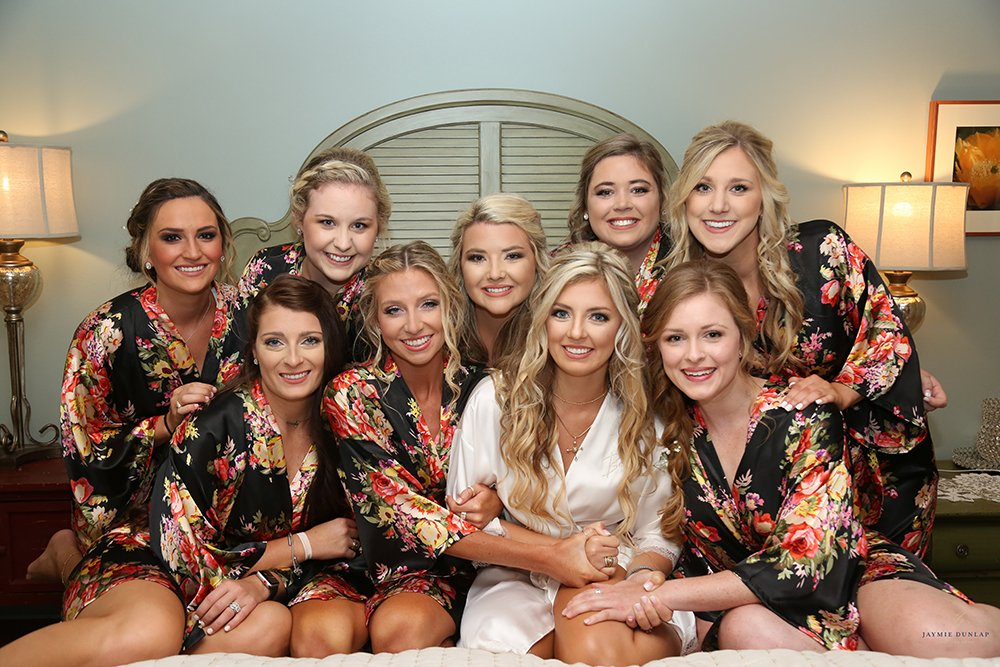 bridal party - bride tribe