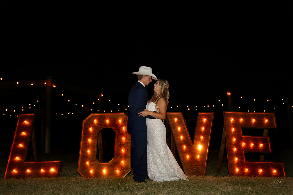 marque letters - wedding photography