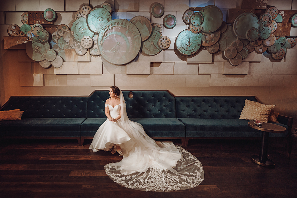 bridal portrait - houston wedding photography