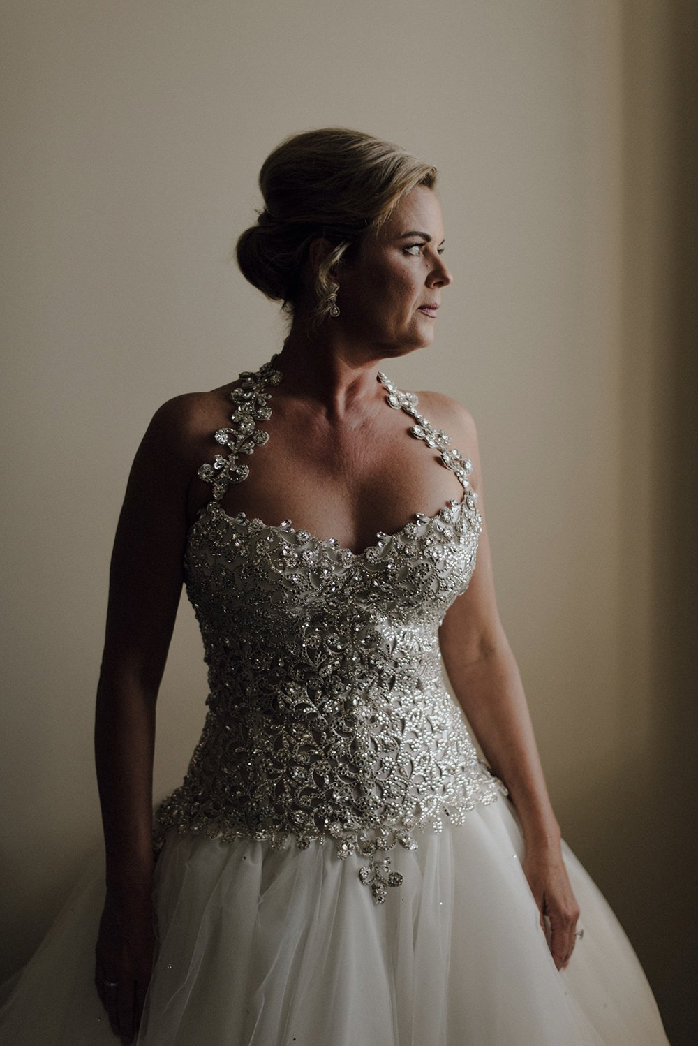 bridal, portrait, photography, dress, embroidery, details, gown, hotel galvez, beautiful, fashion
