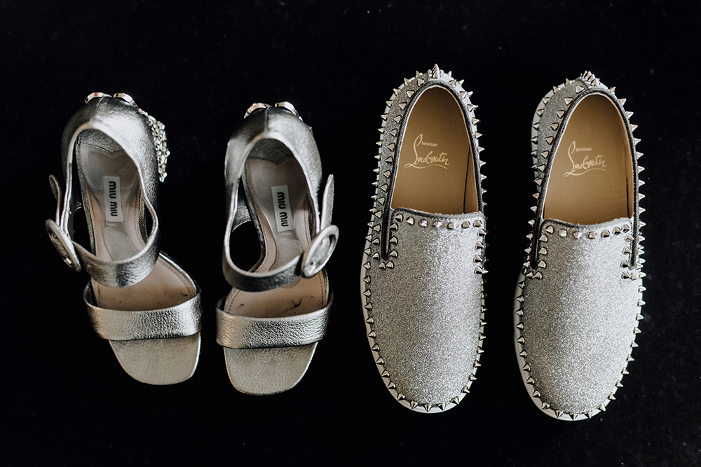 shoes, fashion, bridal, sparkle, silver, luxury, wedding, galveston, houston, designer