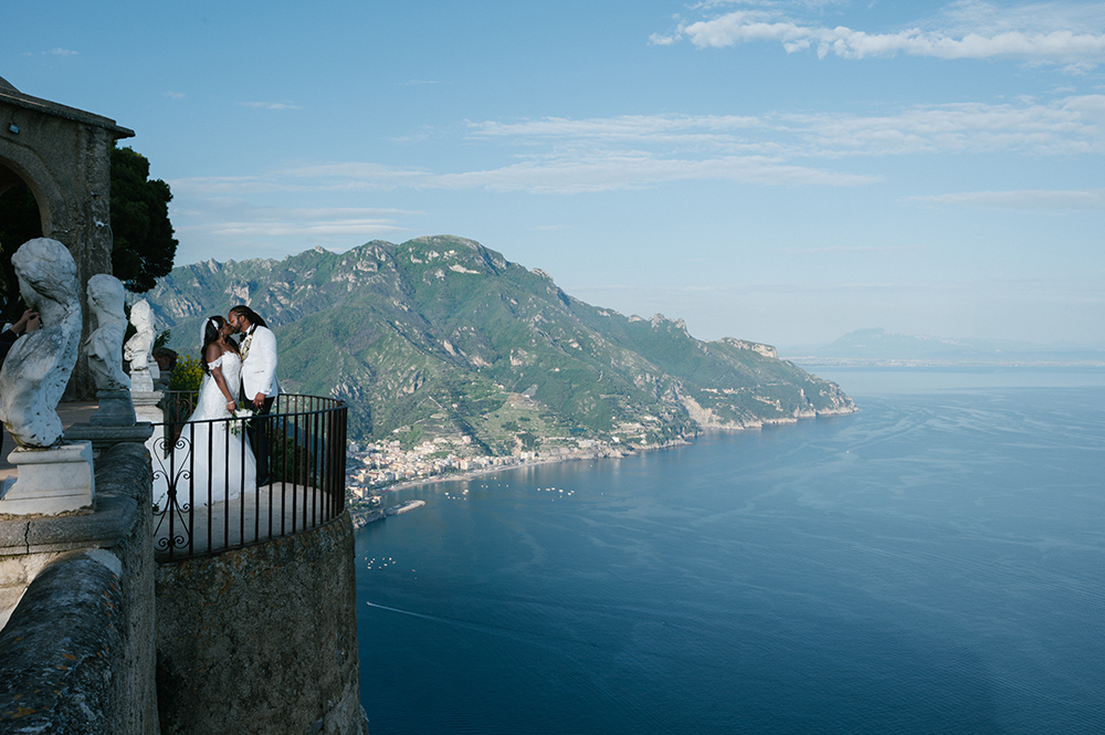 bride - groom - destination wedding - italy - amalfi coast - wedding photography