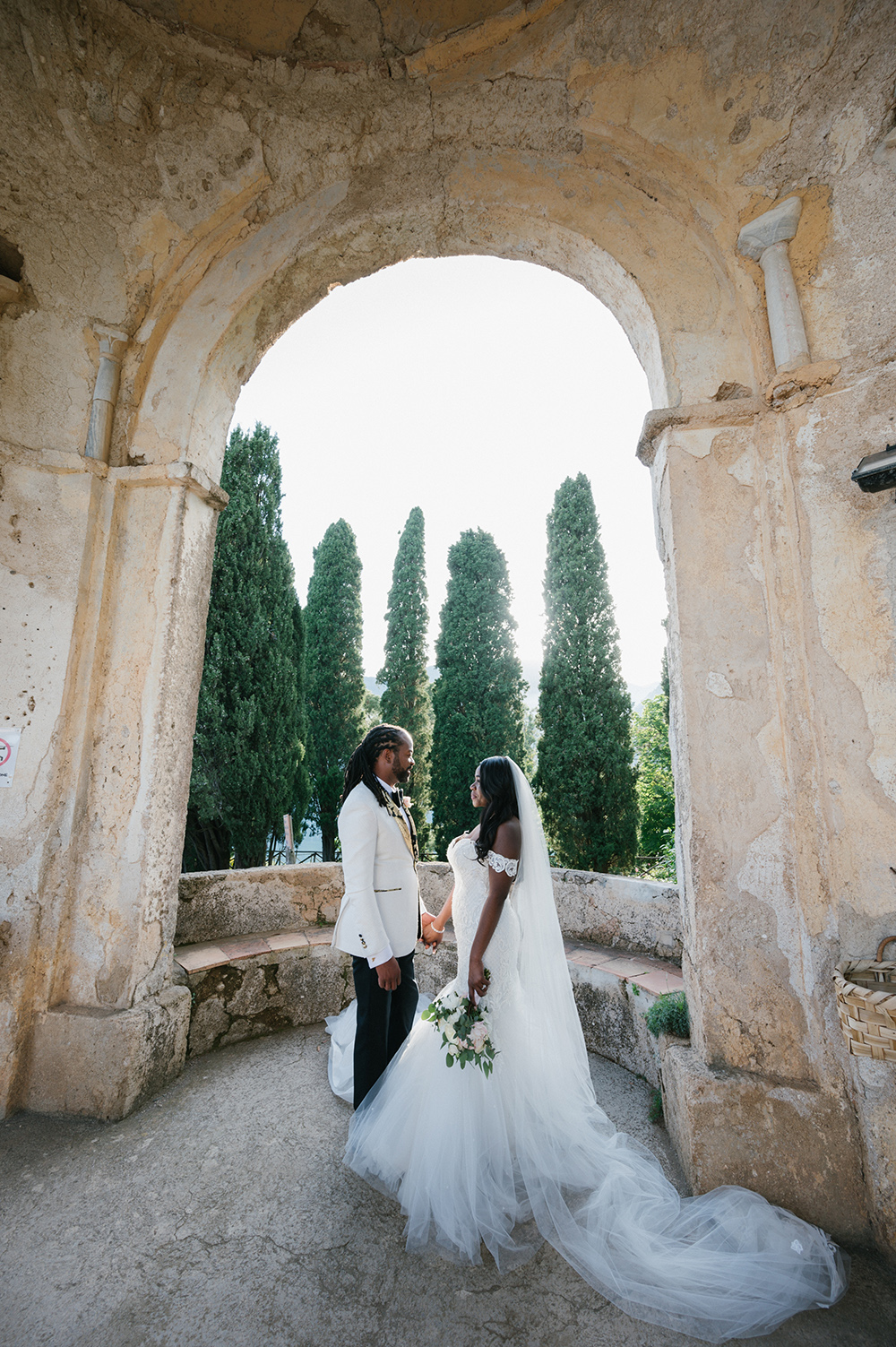 bride - groom - destination wedding - italy