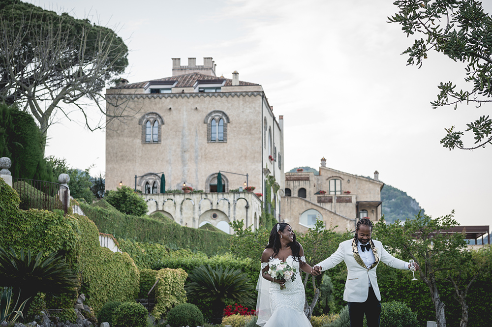 bride - groom - summer - destination wedding - italy