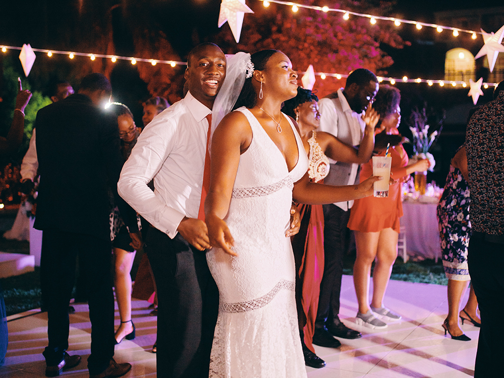 bride - groom - dancing - wedding reception entertainment