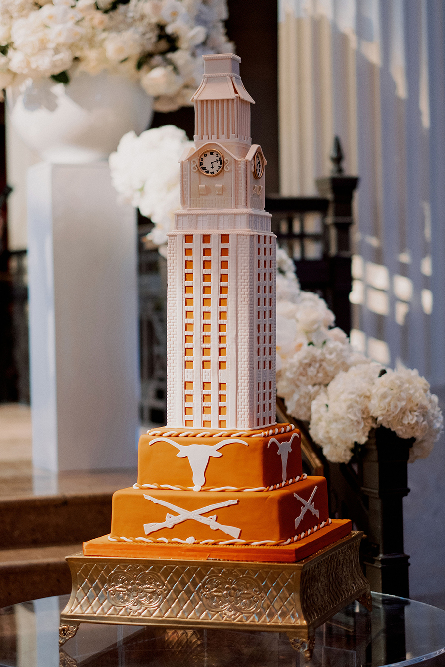 ut, texas, university, gina, corinthian, elegant, wedding, houston, sparklers, cakes, luxury