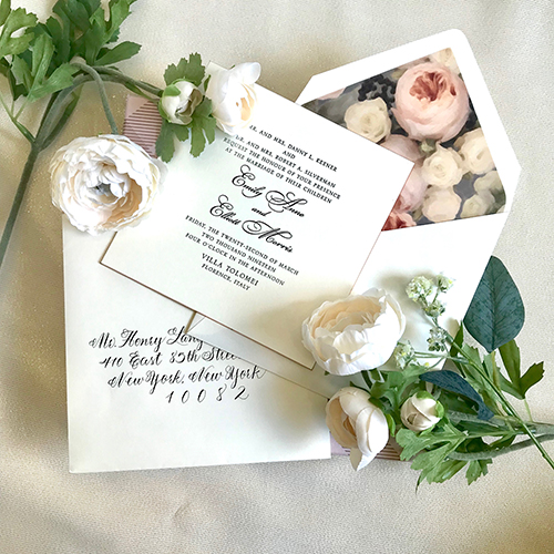 personalized wedding invitations in houston
