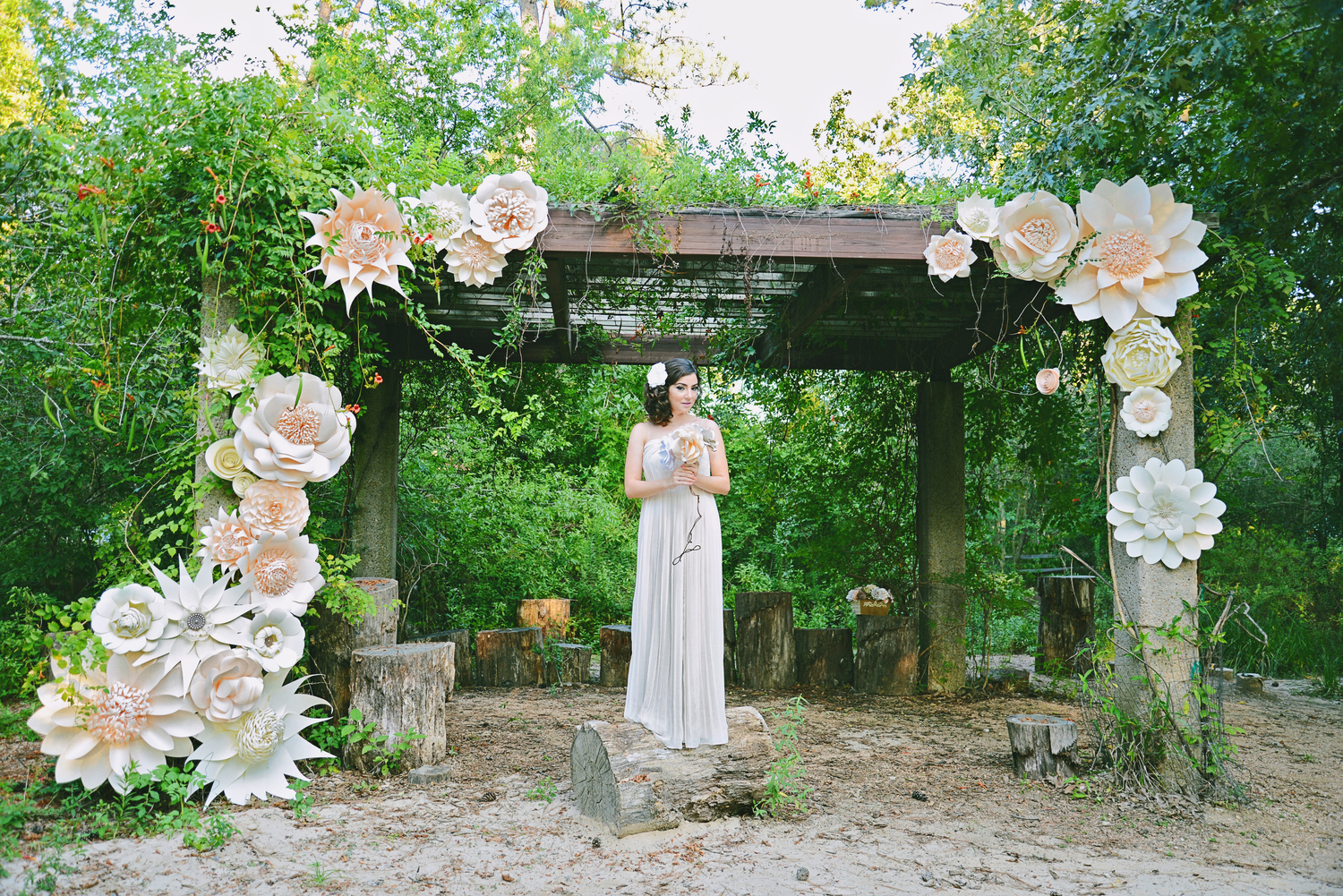 Wedding Florist in Houston – Balushka Paper Floral Artistry
