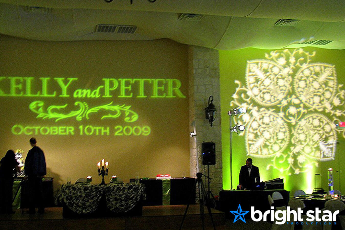 Wedding Lighting + Sound – Bright Star Productions
