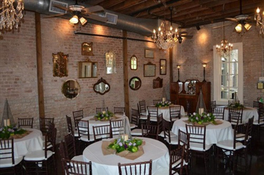 Ceremony and Reception Space – Butler's Courtyard
