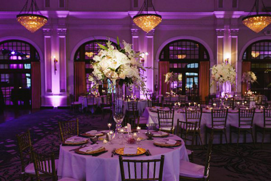 Crystal Ballroom At The Rice Venues Weddings In Houston