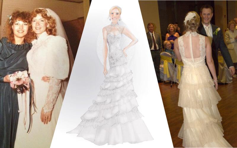 Heirlooming a wedding dress