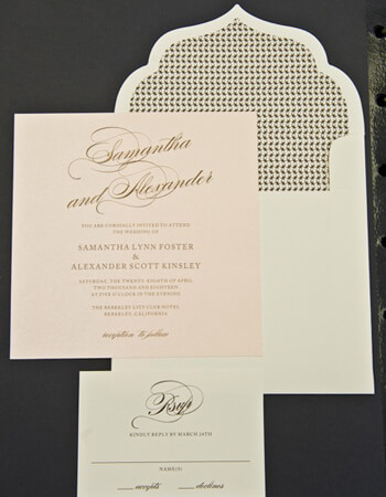 Wedding Invitations and Stationery – DGZ Weddings