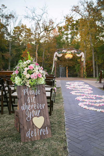 Houston Wedding Florist -  E Johnston Designs