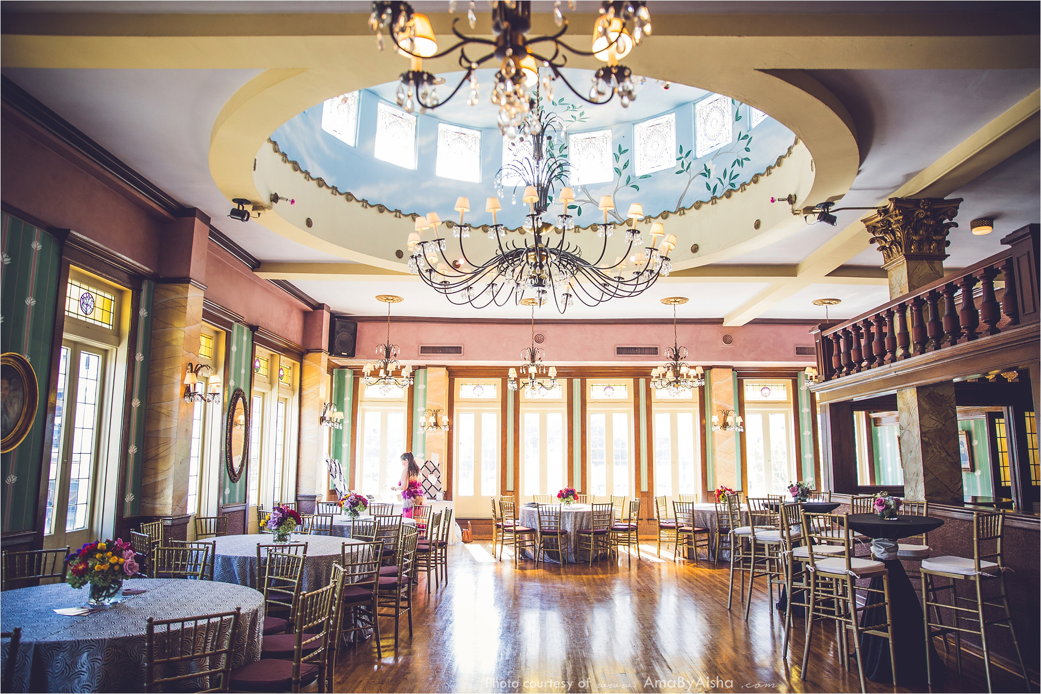 the historic magnolia ballroom venues weddings in houston