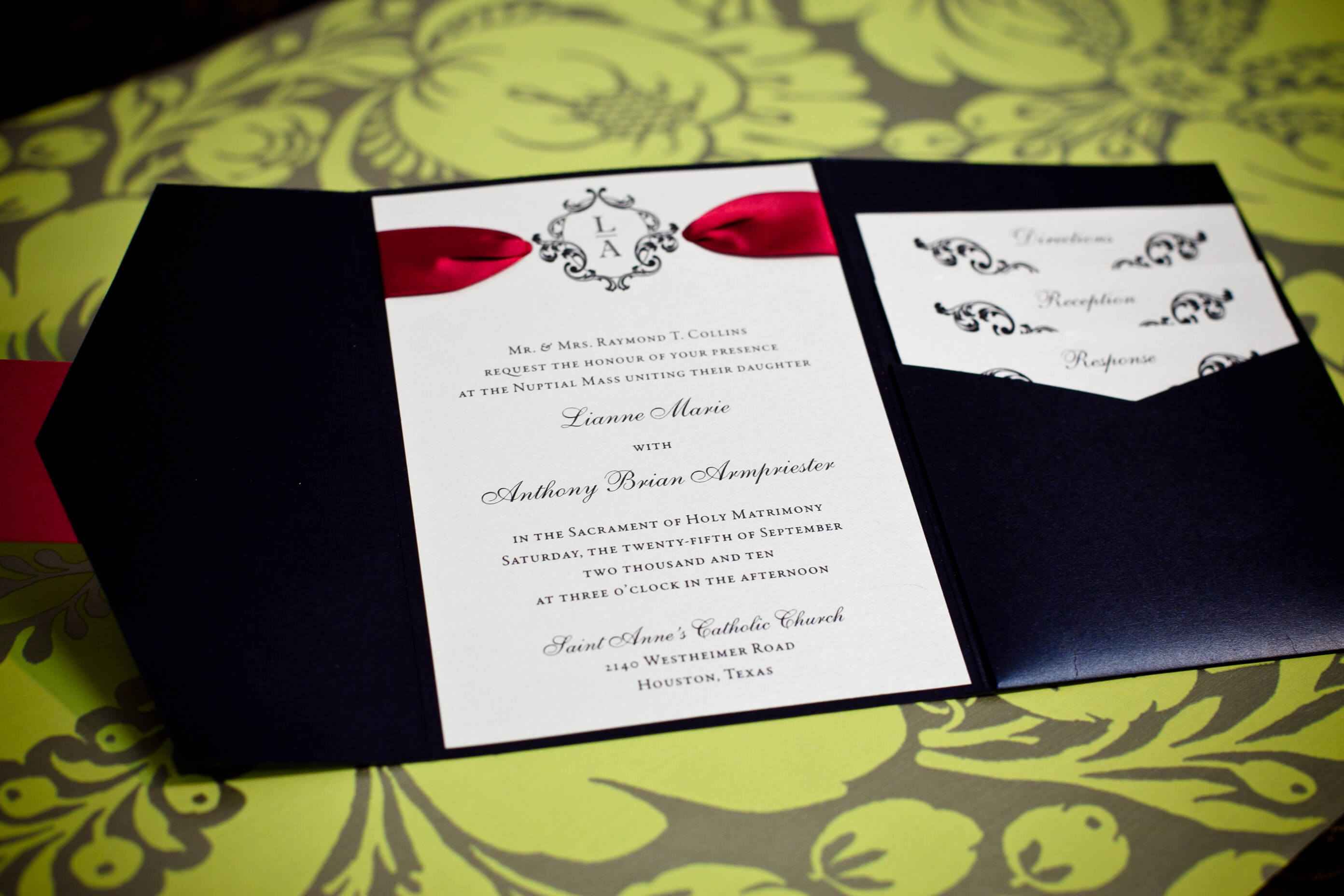 Isabella Invitations Weddings In Houston - Wedding invitation templates: vietnamese wedding invitation template