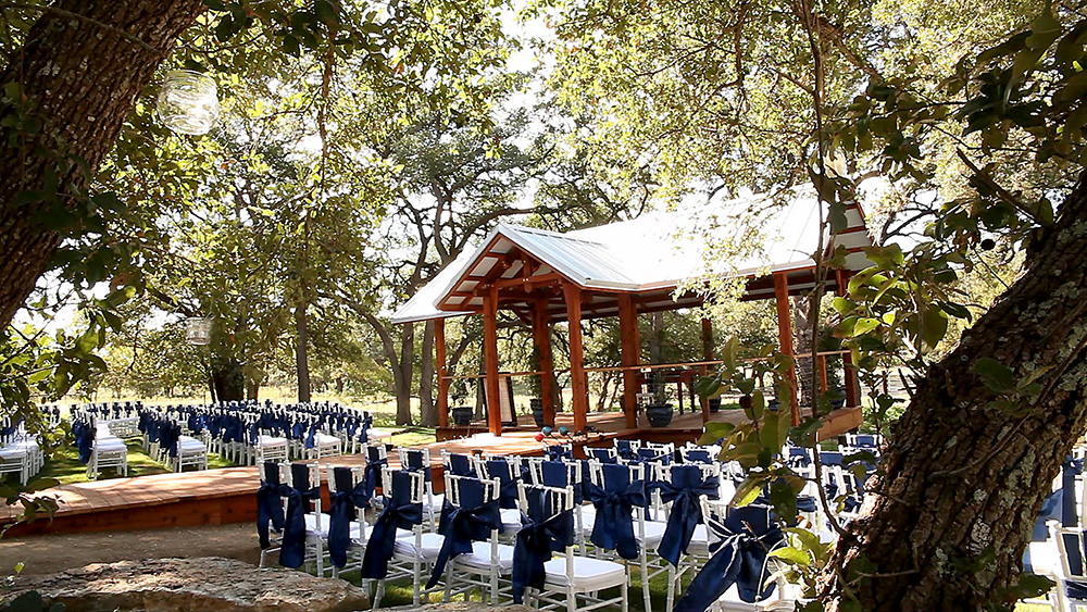 outdoor ceremony site - gazebo