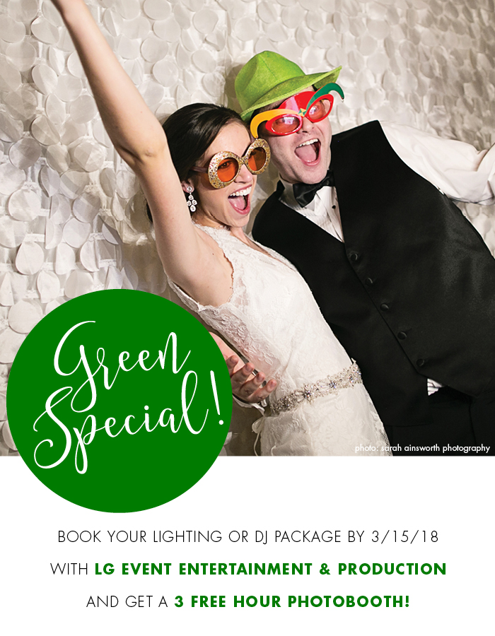 Special Photo Booth Offer: Wedding DJ & Reception Entertainment– LG Event Entertainment & Production