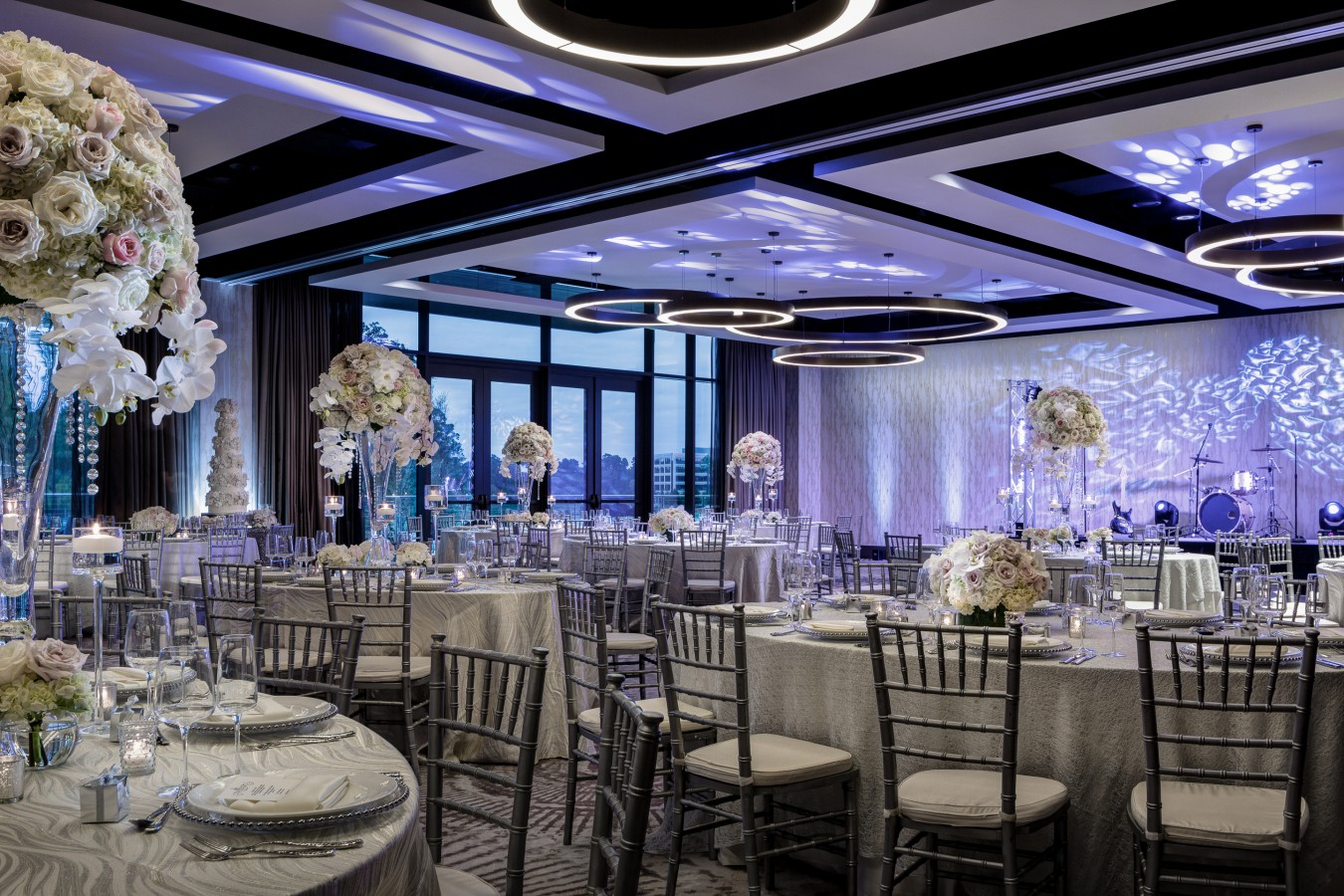 Hotel Ballroom Wedding Reception