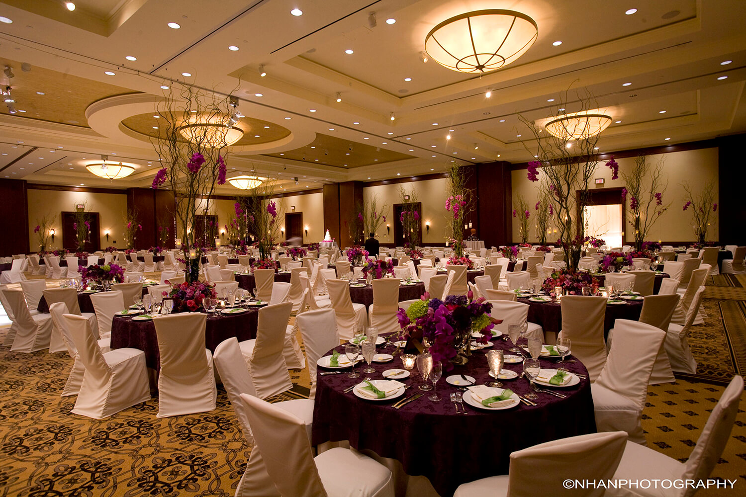 Wedding Receptions + Guest Accommodations – Omni Houston Hotel