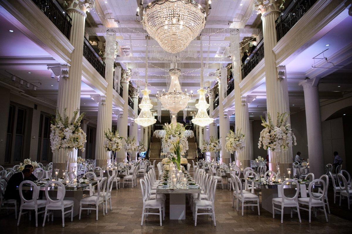 corinthian wedding flowers & decor - houston