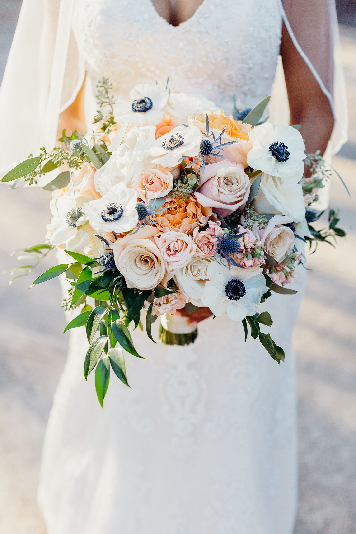 Houston Florist - Bridal Bouquet - Unique - Spring - Chic