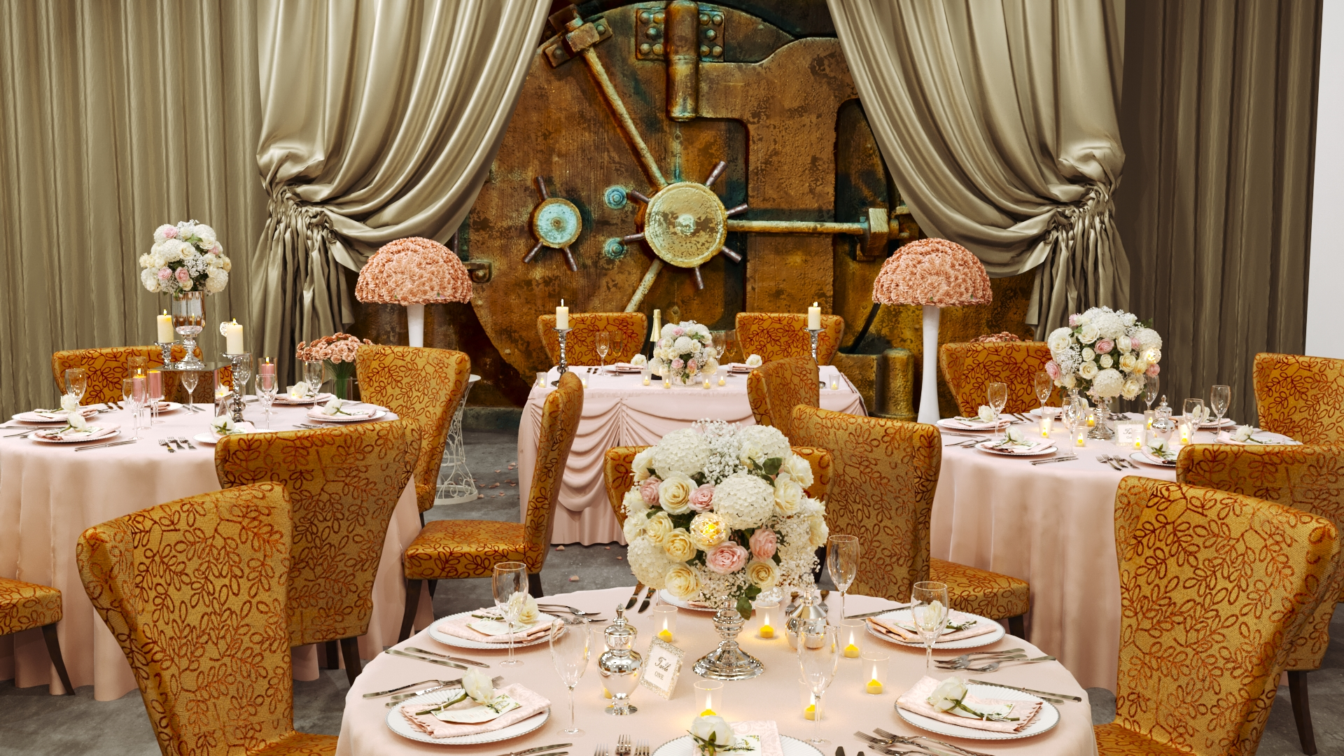 The Vault at Corinthian - Venue - Weddings in Houston