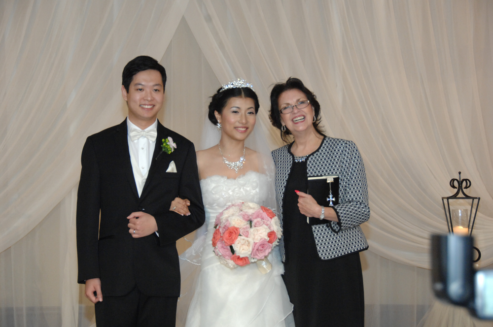 Houston Wedding Minister - Wedding Performed