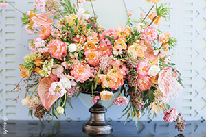 photo: sylvie gil  flowers: todd events